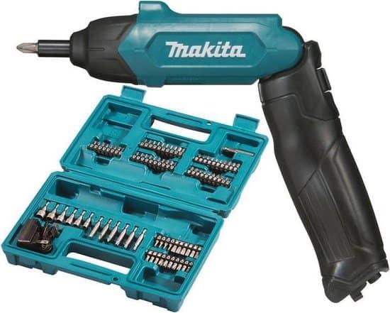 Makita DF001DW Lithium-Ion accu schroevendraaier met toebehoren
