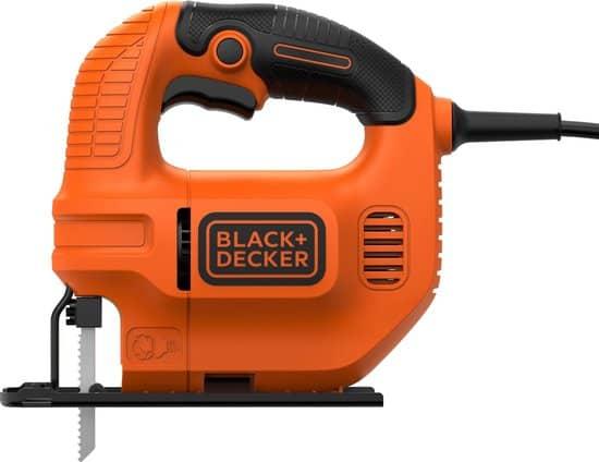 BLACK+DECKER KS501 Decoupeerzaag - 400W - continu-schakelaar