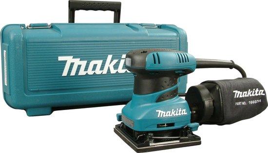 Makita BO4555K Vlakschuurmachine - 200 W - 102 x 112 mm schuuroppervlak
