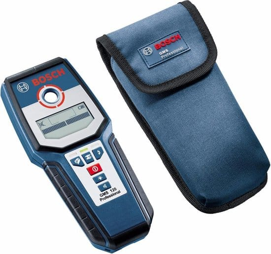 BOSCH PROFESSIONAL Leidingzoeker GMS120 - Professional - Detector