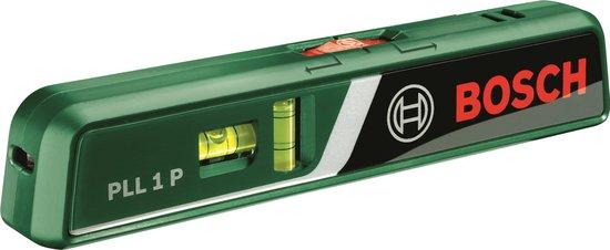 Bosch PLL 1P Laserwaterpas - Punt en Lijnlaser - 5 tot 20m bereik