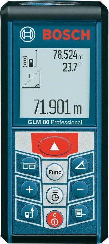 Bosch Professional GLM 80 - Afstandsmeter - Tot 80 meter - Verlichte display