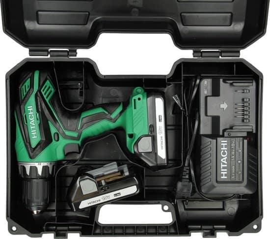 Hitachi DS18DJLWC Accuboormachine  - 18V - incl. 2 accu's - incl. koffer