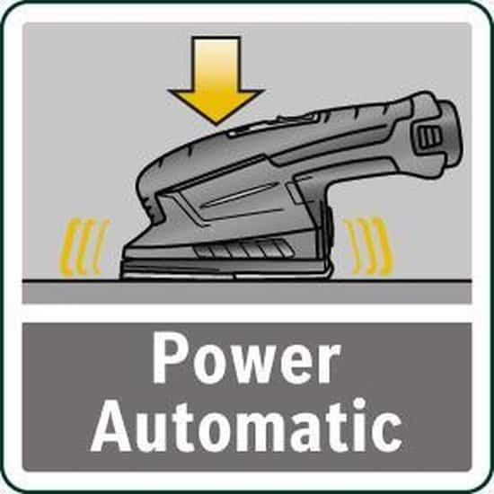 Bosch Power for All EasySander 12 Multischuurmachine - Inclusief 2 x 12 V 2,5 Ah accu's en oplader