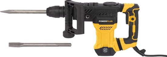 Powerplus POWX11831 Breekhamer - 1300 W - 18 joule - SDS max - Incl. koffer en 2 beitels